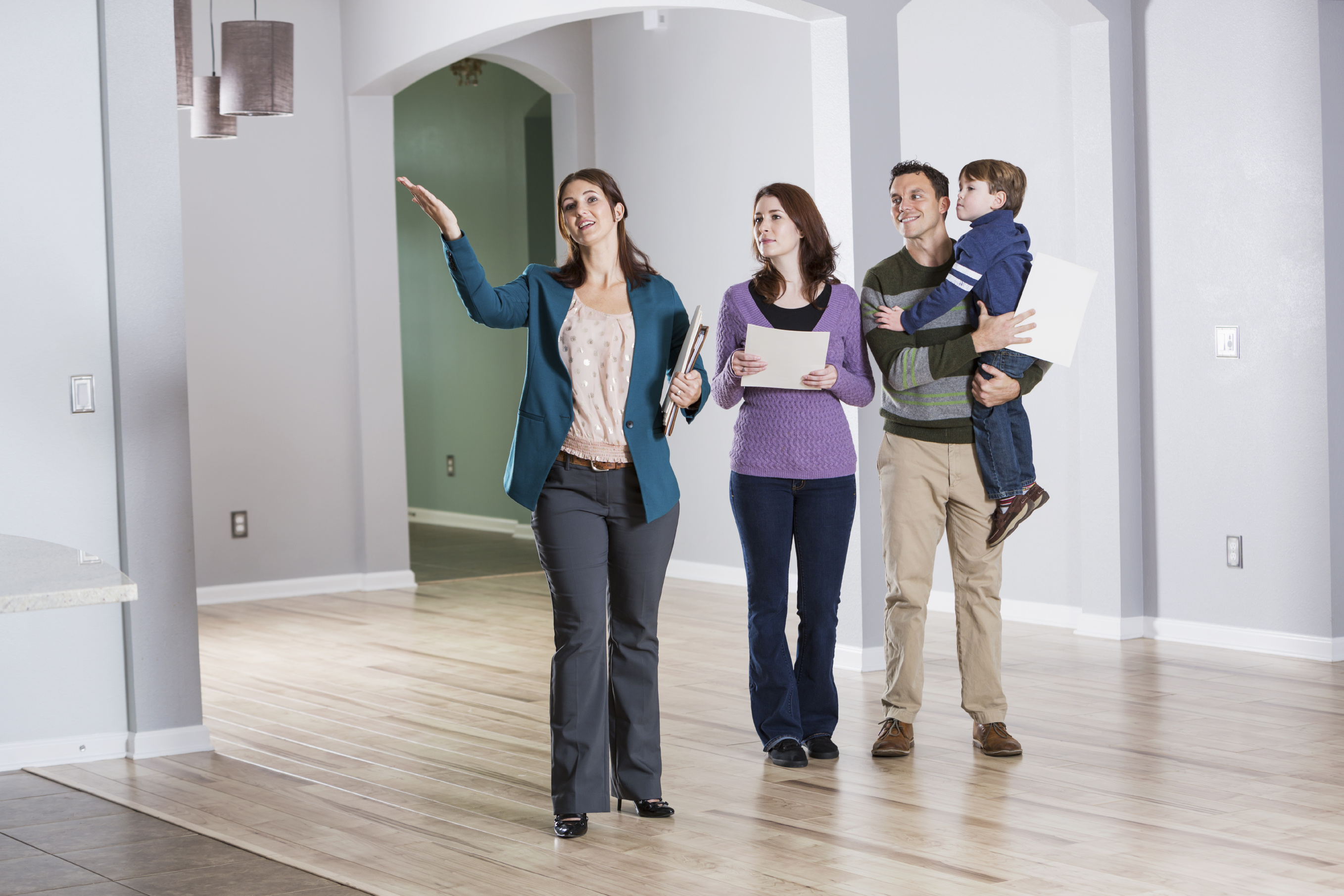Being a real estate agent is a great part-time option for stay-at-home moms.